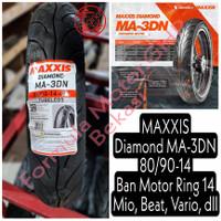 80/90-14 Maxxis Diamond MA-3DN - Ban Motor Ring 14 Tubeless - Ban Mio