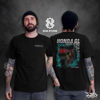 Kaos Biker Pria Honda GL Full Story - M