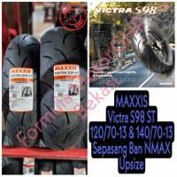 Ban Nmax Sepasang 120/70-13 & 140/70-13 Maxxis Victra Ukuran Lebar