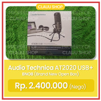 Audio Technica AT2020 USB+ Cardioid Condenser USB Microphone