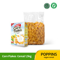 Poppins Corn Flakes 1,5kg Cereal / Sereal Jagung Horeca Package