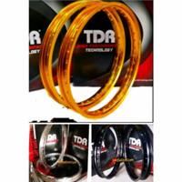 Velg TDR W Kotak 160 Ring 17 Gold Silver Black Original not tk rossi