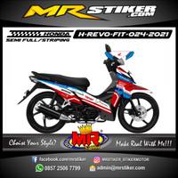 Decal Honda Revo FIT Stiker Motor Terbaru Grafis Racing Laminasi Tebal