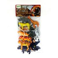 Mainan Anak Binatang Karet Wild Animal