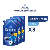 Downy Pewangi dan Pelembut Pakaian Konsentrat Sport Fresh 1,45L -isi 3