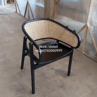 Kursi Rotan Arm Chair Cane