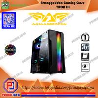 ARMAGGEDDON Gaming Case Tron III - Casing PC Gaming