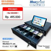 CASH DRAWER BLUEPRINT CD-BPL01 (40x42x11Cm) / CASHDRAWER LACI UANG