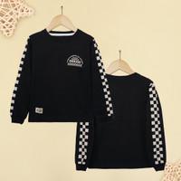 ORKIDS Baju Kaos Anak State / Black