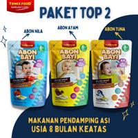 ABON BAYI TOMEZ PAKET TOP 2 (Nila, Ayam, Tuna)