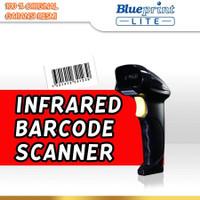 BARCODE SCANNER INFRARED 1D USB BLUEPRINT BP-LITEX8C (Black)