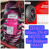 140/70-13 Zeneos Milano ZN-87 Tubeless - Ban Belakang NMAX Ring 13