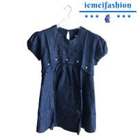 Baju Hamil Denim Menyusui ( 0128 )