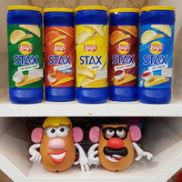 LAYS STAX potato chips snack keripik kentang impor USA 155gr/5,5oz