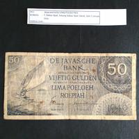 Uang Kuno 1946 Seri Federal De Javasche Bank Rp. 50,-