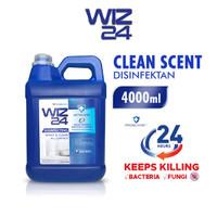 Disinfektan Disinfectant Jerigen Cairan 5L / 5Liter WIZ24 WIZ 24 Murah - Biru / Clean