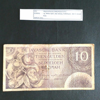 Uang Kuno 1946 Seri Federal De Javasche Bank Rp.10,-
