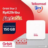 Modem WiFi Huawei B312 Telkomsel Orbit Star 2 Resmi Free 50GB