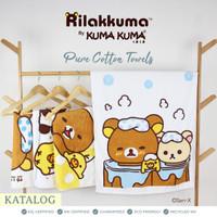 Pure Cotton Towel Rilakkuma by Kuma Kuma
