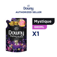 Downy Pewangi dan Pelembut Pakaian Konsentrat Mystique Refill 680ml