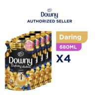 Downy Pewangi dan Pelembut Pakaian Konsentrat Daring 680ml - isi 4