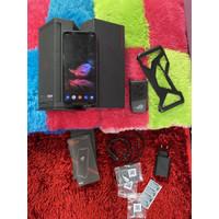Asus Rog Phone 2 12/512GB Bekas Fullset Original With Aero Cooler