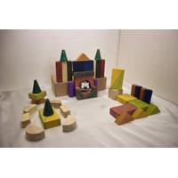 TabyTime balok susun - Wooden Toy Mainan Kayu Edukasi Anak