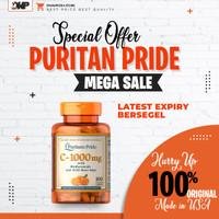 Puritan Pride Vitamin C 1000 isi 100 Original 100% USA
