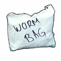 Worm Bag Cacing Tanah Pembuatan Kascing Vermicompost Dekomposer Hidup