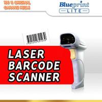 BARCODE SCANNER LASER 1D USB BLUEPRINT BP-LITEX8L (White)