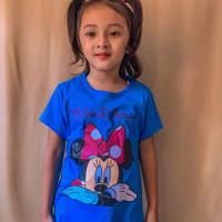 baju atasan anak karakter size 1-7 tahun bahan katun - 2-3 tahun