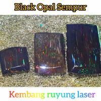 bahan black opal sempur ruyung