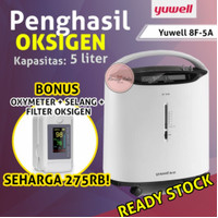 READY YUWELL 8F-5Aw oxygen concentrator generator oksigen 5LITER