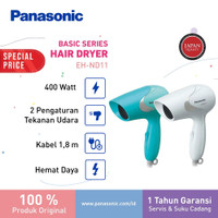 Panasonic Hair dryer EH ND11 ( Biru/ Putih)