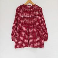 Atasan Batik 53.1 Baju Blus Blouse Kerja Wanita Modern