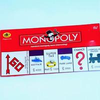 Permainan Monopoli Klasik Bahasa Inggris - Standard Classic Monopoly