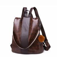 Ransel Kulit Tas Punggung Wanita Leather Premium Import