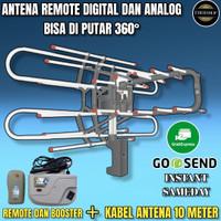 Antena tv LED/LCD DIGITAL REMOTE KABEL DAN BOOSTER (GAMBAR JERNIH)