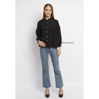 Baju Atasan Wanita Banana Female Baju Atasan 074 Black