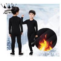 Baju Hangat Atasan Anak Longjohn Thermal Bulu Musim Dingin