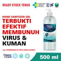 Hand sanitizer Handsanitizer GEL 500ML Antiseptik Alkohol 70%
