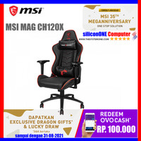 MSI MAG CH120 X GAMING CHAIR GAMING GEAR CHAIRS KURSI CH120X