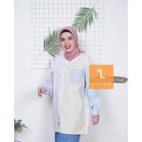 Baju Atasan Blouse Kemeja Wanita Katun Rayon Jumbo - Pastel