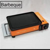 Kompor Gas Bakaran Portable progas Barbeque / Multy Grill 2 fungsi
