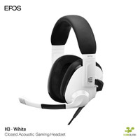 EPOS H3 White - Closed Acoustic Gaming Headset