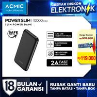 ACMIC PowerSlim 10000mAh Slim PowerBank 2A Fast Charge - NoKabel NoPouch