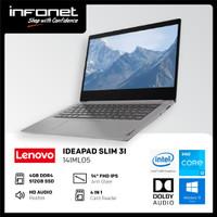 LENOVO IP SLIM 3I 14IML05 I3 10110U 4GB 512GB SSD INTEGRATED 14 FHD
