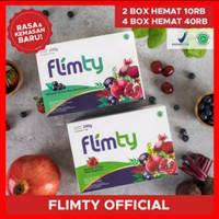 Flimty Fiber original herbal diet pelangsing 1 Box - Raspberry