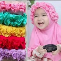 jilbab hijab kerudung anak bayi lucu murah 0-3 tahun Kriwil/ ashafina