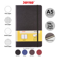 Notebook Buku Tulis Catatan Diary Agenda Joyko Hard Cover